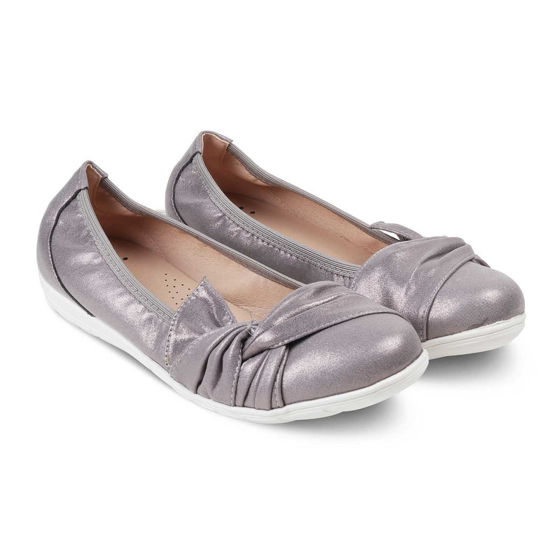 The Dublin Pewter - Pewter bellerinas for women - Tresmode