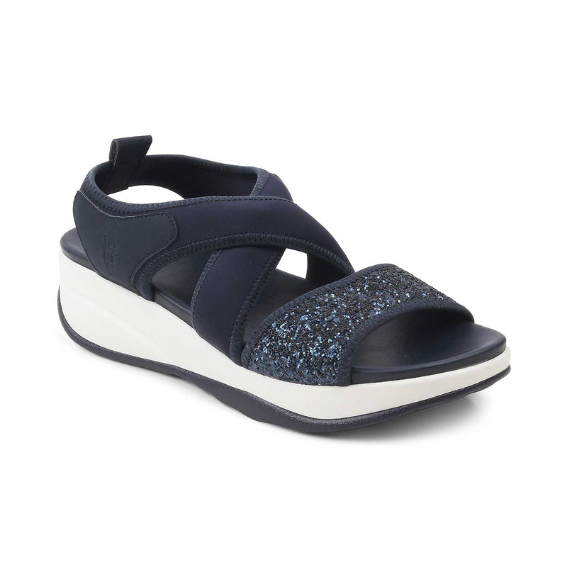 The Eretria Blue casual sandals