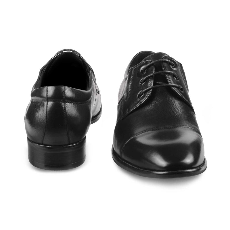 The Giorgio Black Derby Lace ups