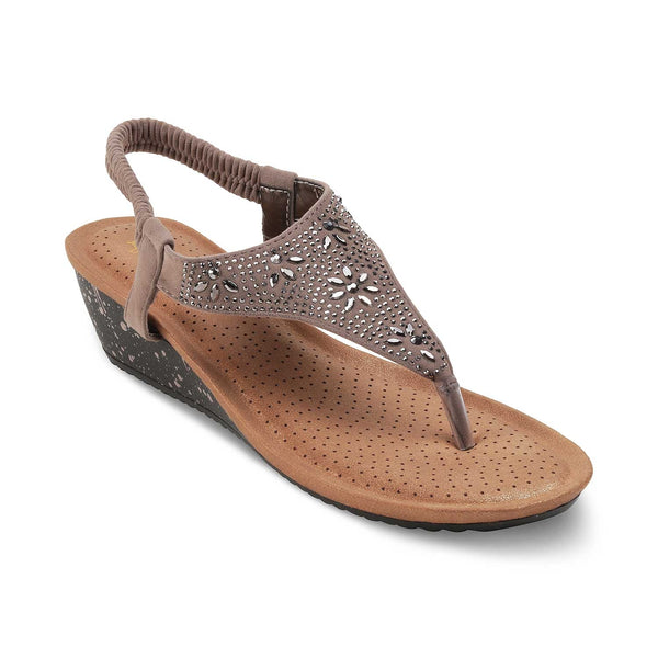 The Gordi-New BeigeBeige Flats for Women - Tresmode