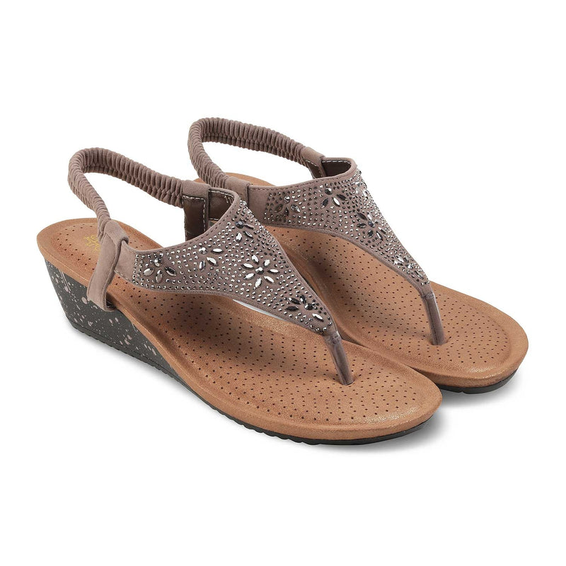 The Gordi-New Beige - Beige Flats for Women - Tresmode