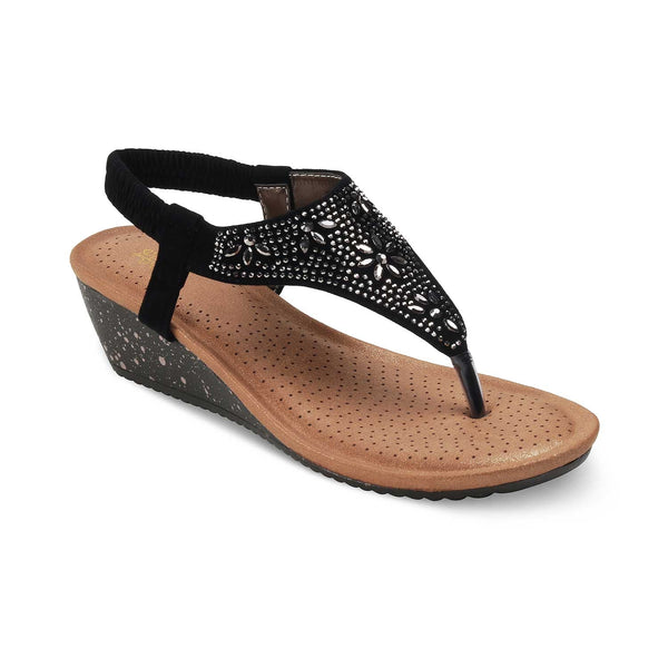 The Gordi-New BlackBlack Flats for Women - Tresmode