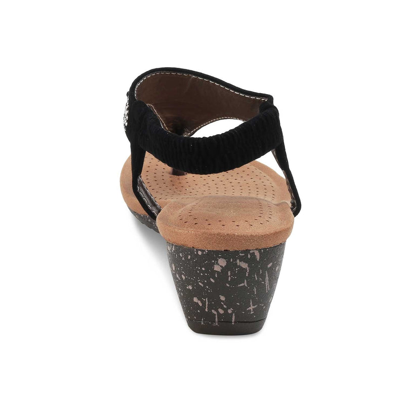 The Gordi-New Black - Black Flats for Women - Tresmode