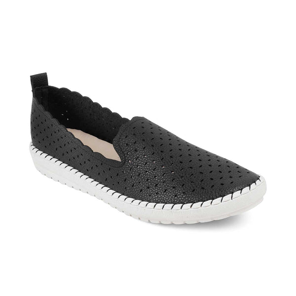 The Jessica Black - Black casual loafers - Tresmode