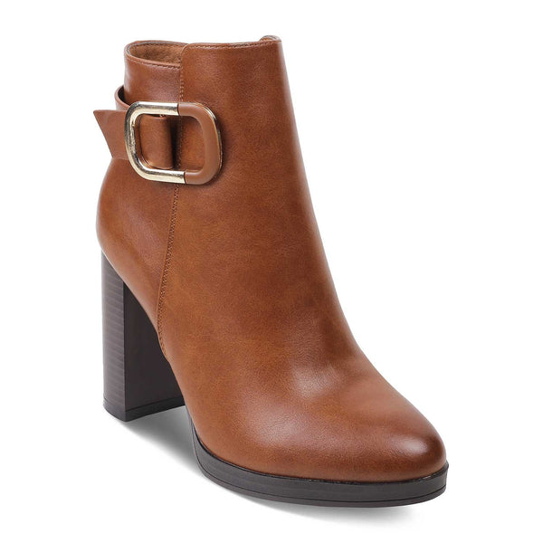 The Lauren CamelCamel Ankle-length Boots - Tresmode
