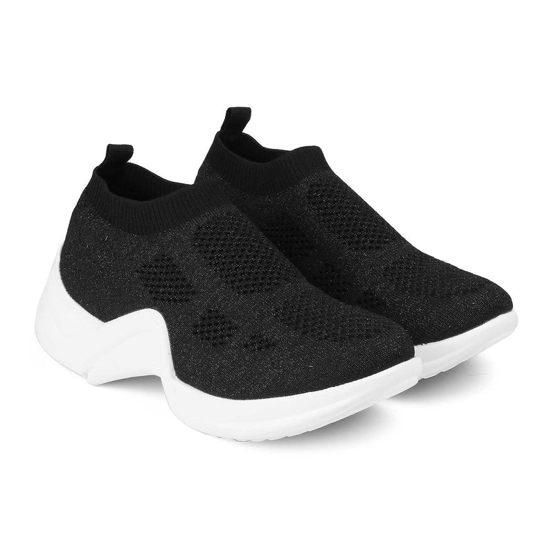 The Louis Black slip-on sneakers for women