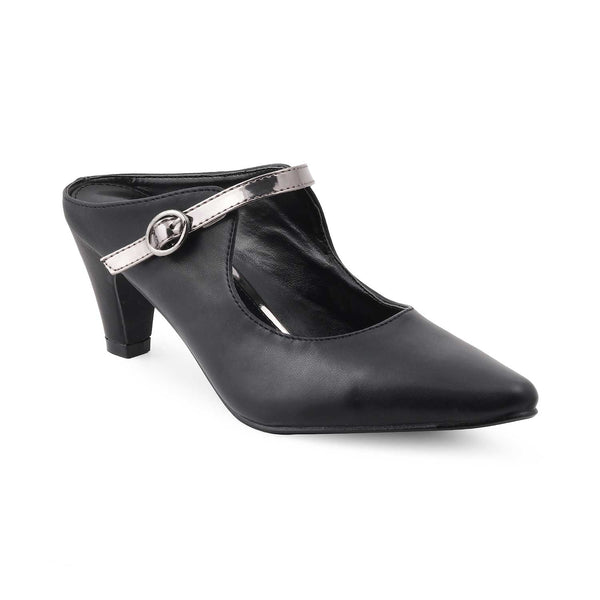 The Mael BlackBlack Block Heel Pumps - Tresmode
