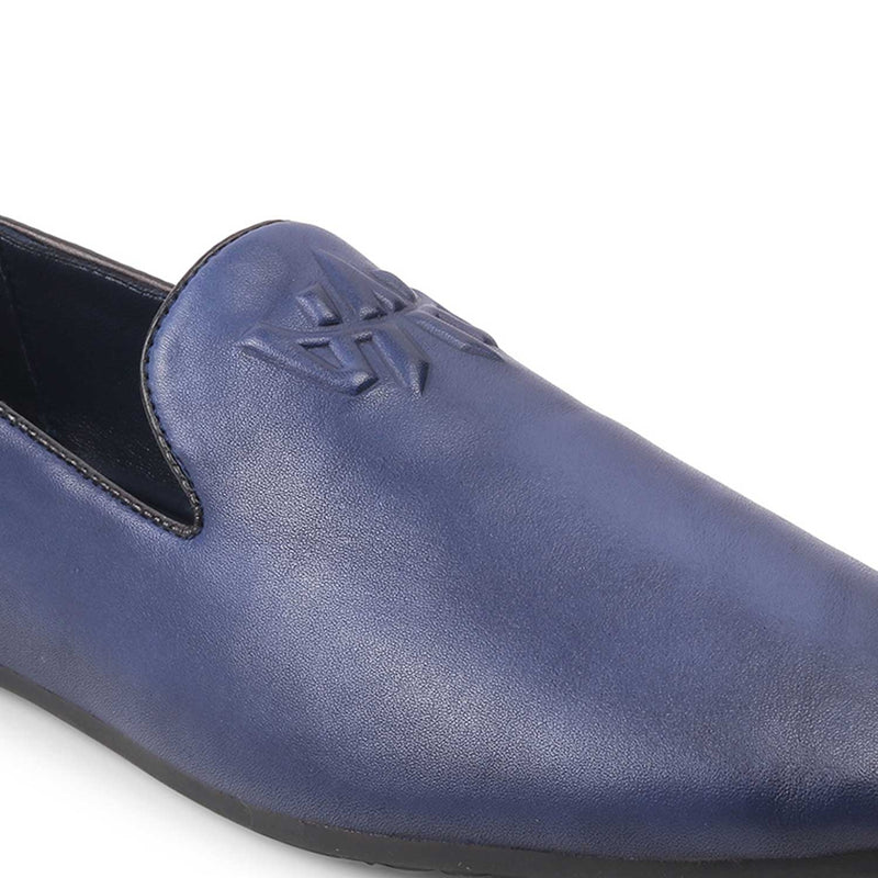 The Marco Blue - Blue Slip on loafers - Tresmode