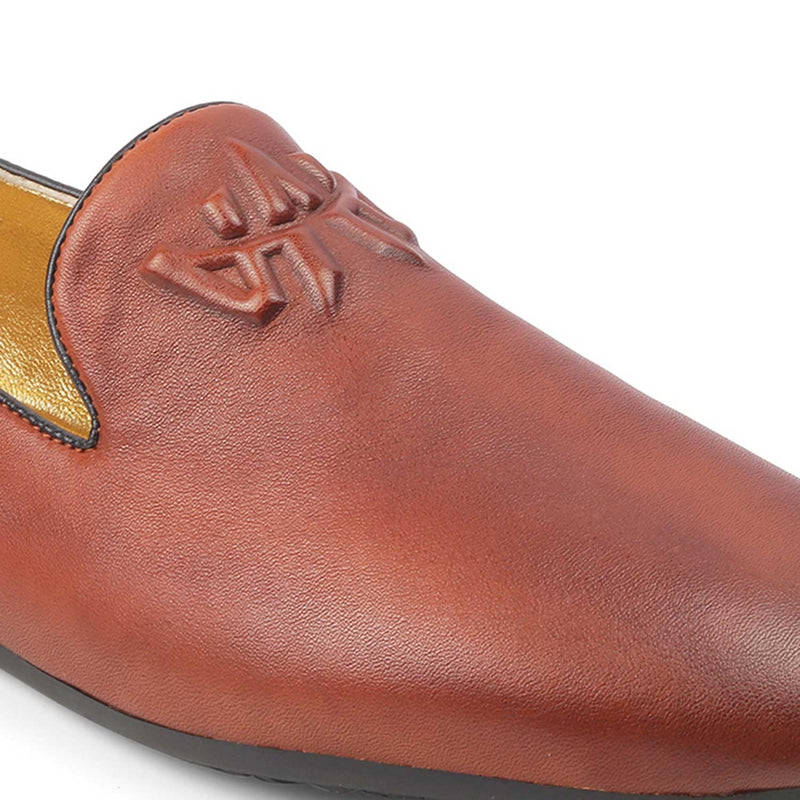 The Marco Tan - Tan Slip on loafers - Tresmode
