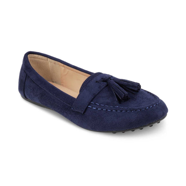 The Maya Blue Tassel loafers