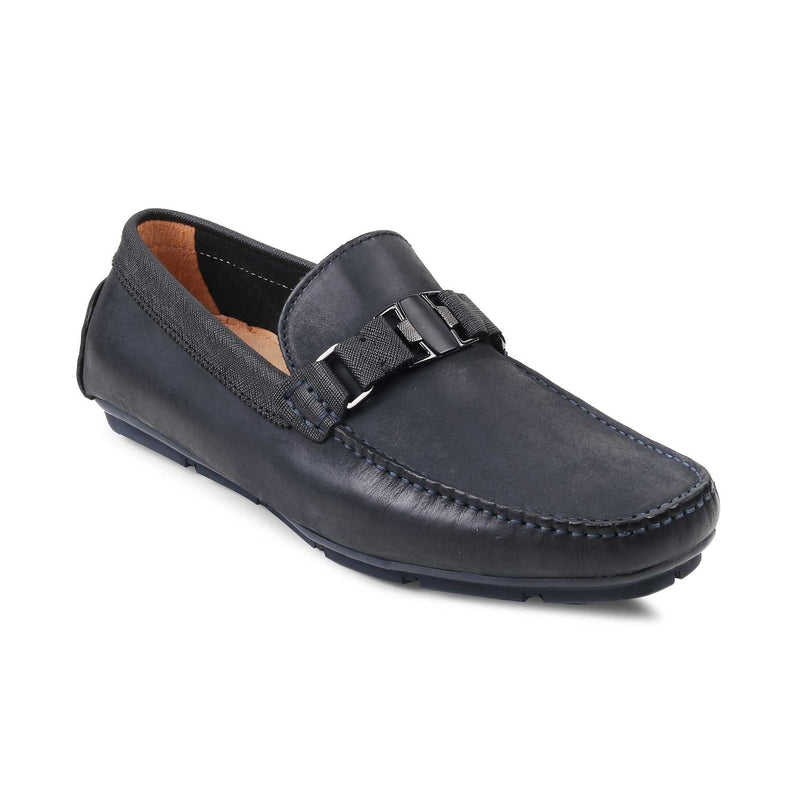 Blue Driving Loafers-The Pekin Blue-Tresmode