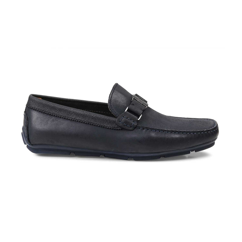 The Pekin Blue - Blue Driving Loafers - Tresmode