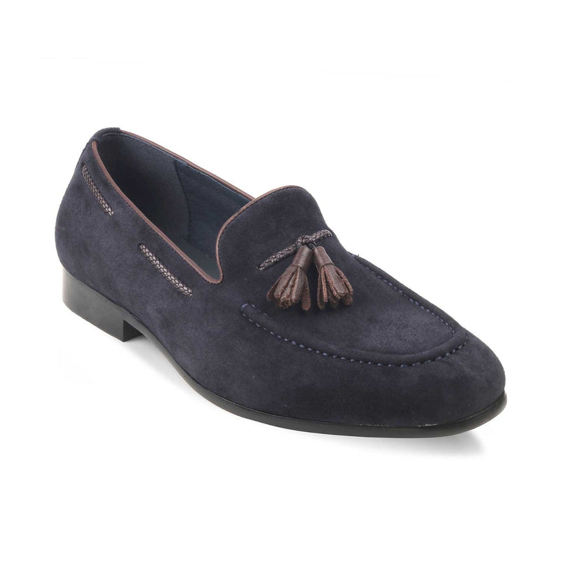 The Raffaelle Blue - Blue Tassel loafers - Tresmode