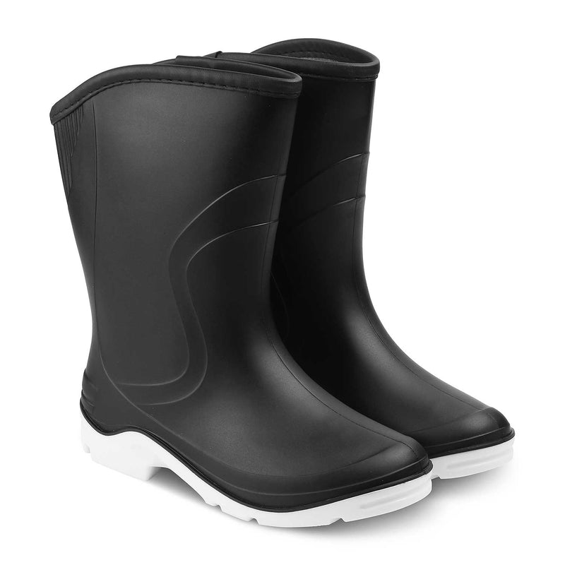 The Rainboat BlackBlack Gum boots for women - Tresmode