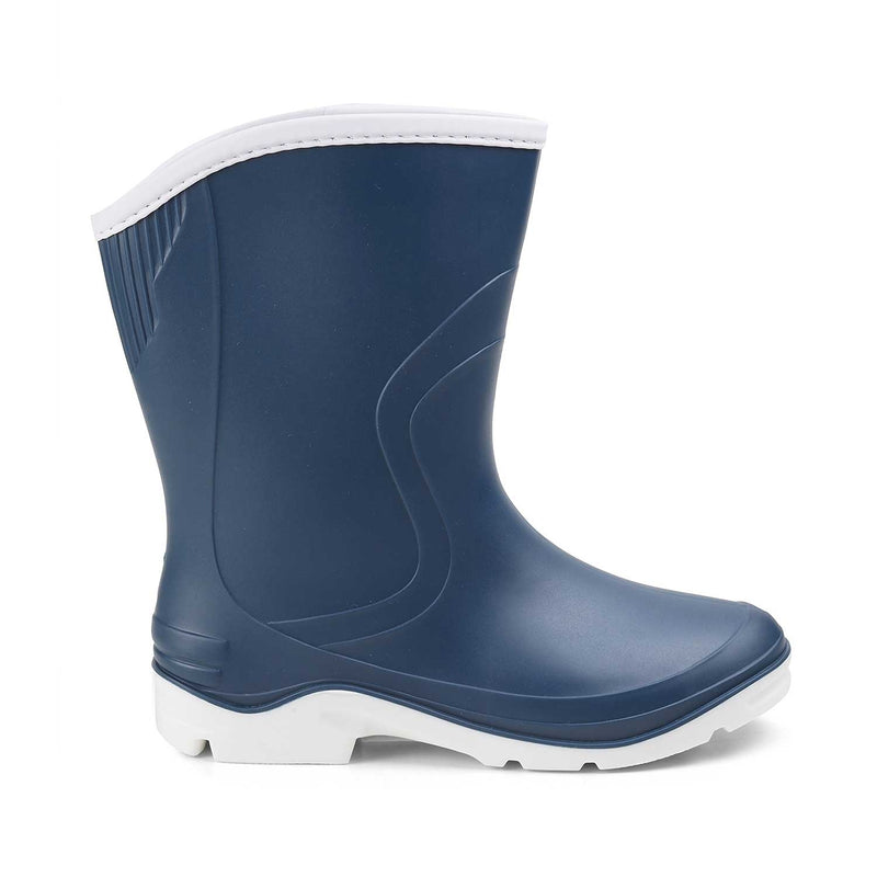 The Rainboat Blue - Blue Gum boots for women - Tresmode
