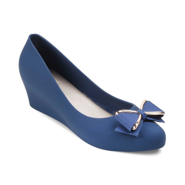 The Raincal Blue - Blue Wedge heel ballerinas - Tresmode