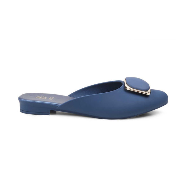 The Rainslip Blue - Blue slip-on flats - Tresmode