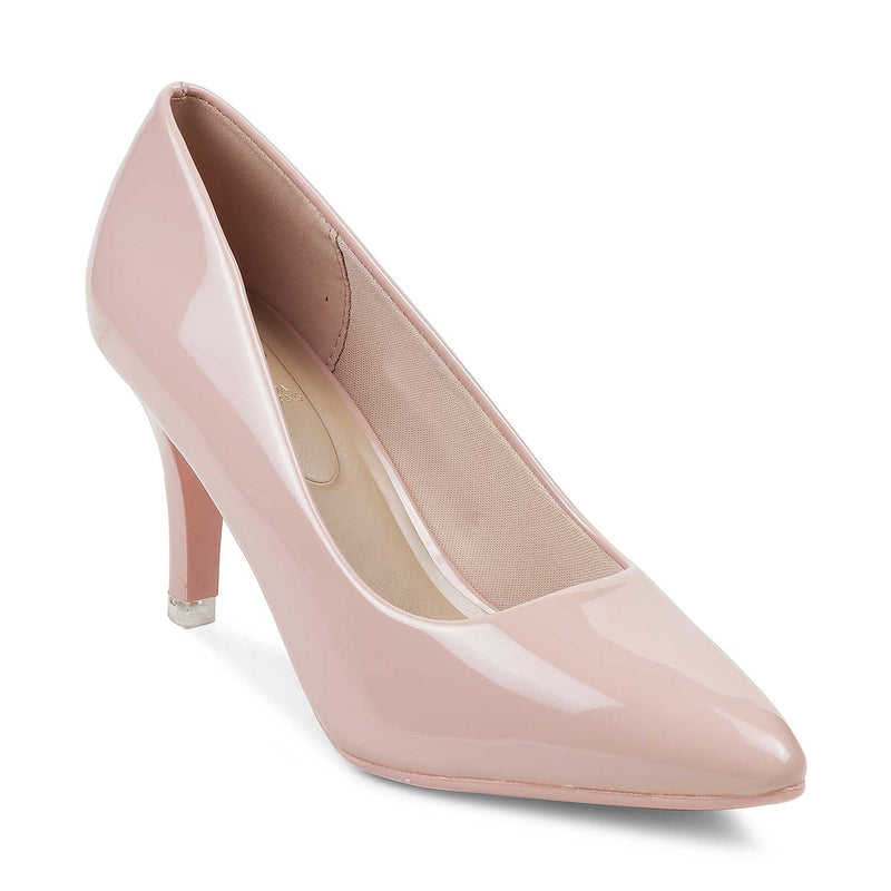 The Santorini Pink Pumps for Women