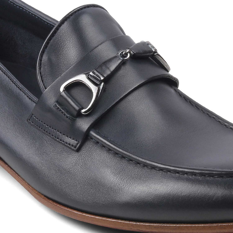 The Tomasso Blue - Blue Buckle loafers - Tresmode