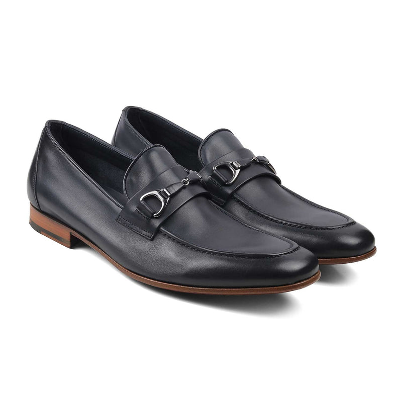 The Tomasso Blue Buckle loafers