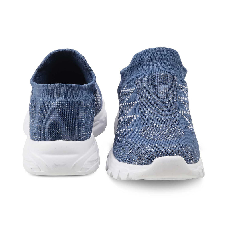 The Veria Blue - Blue sneakers for women - Tresmode