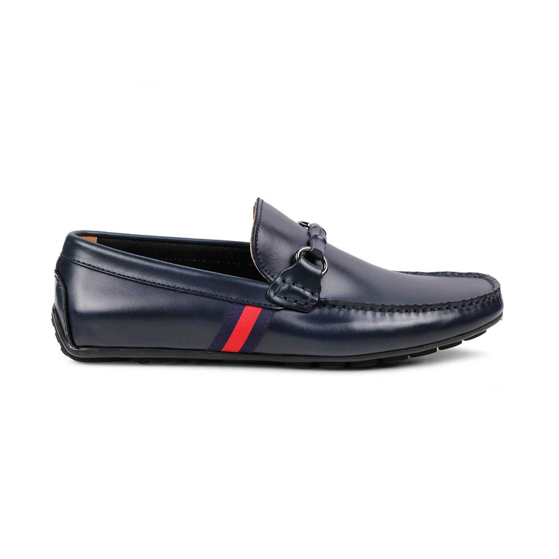 The Vincenzo Blue - Blue Driving loafers - Tresmode