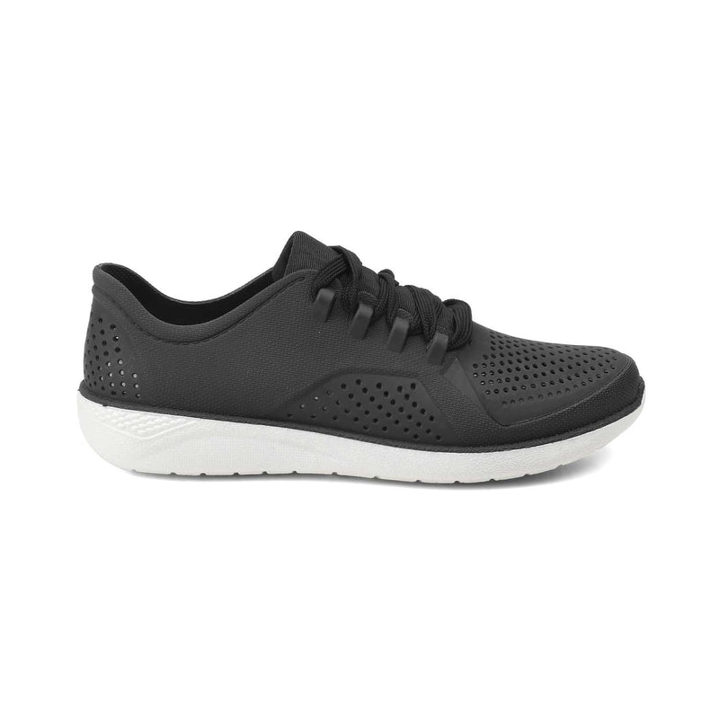 Jelly sneakers for women-The Zecroc Black-Tresmode