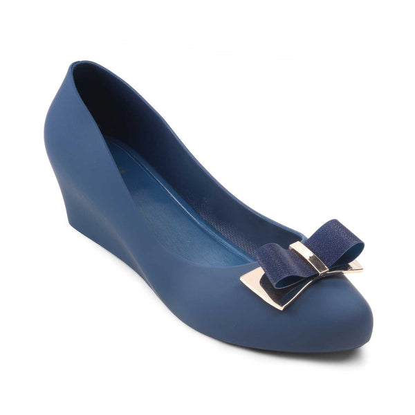 The Zoogamo Blue - Wedge heel ballerinas - Tresmode