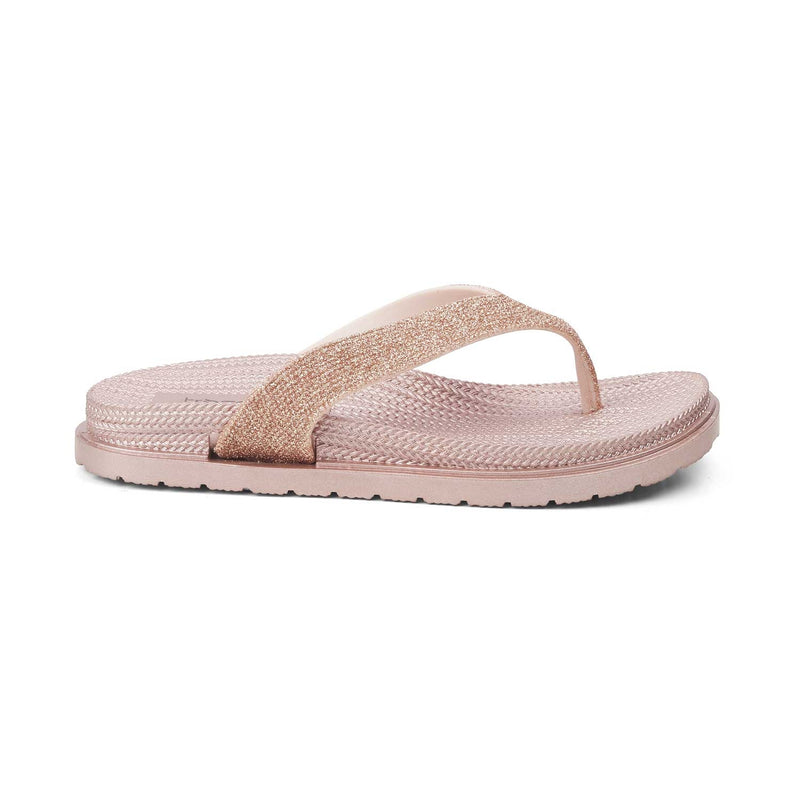 Slip-on flats for women-The Zslip Rose Gold-Tresmode
