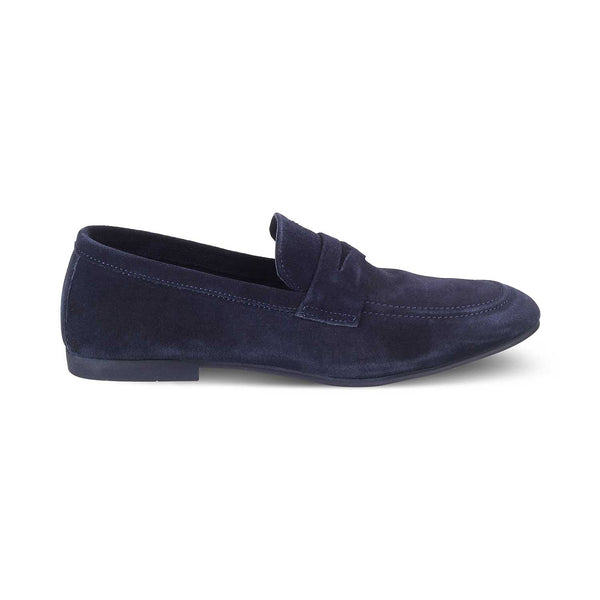 The Catania Blue - Blue Penny Loafers - Tresmode