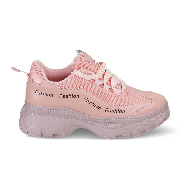 The Chen Pink - Pink slip on sneakers - Tresmode