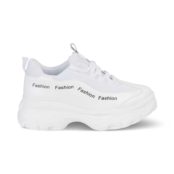 The Chen WhiteWhite slip on sneakers - Tresmode