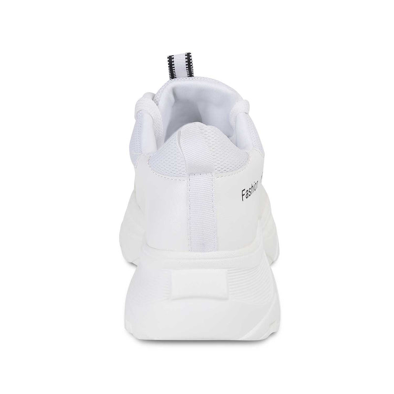The Chen White slip on sneakers