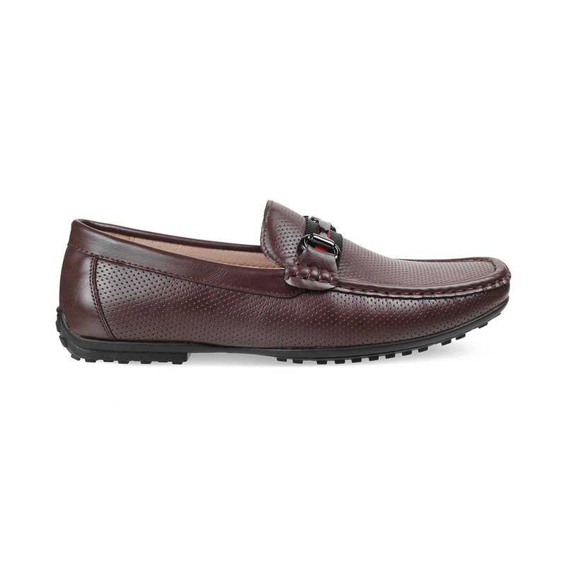 The Jecrete Brown Driving Loafers