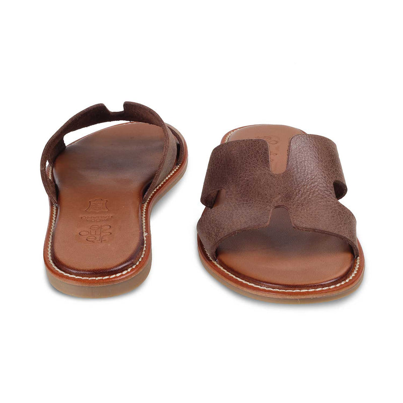 The Kavala Brown - Brown Flats for Women - Tresmode