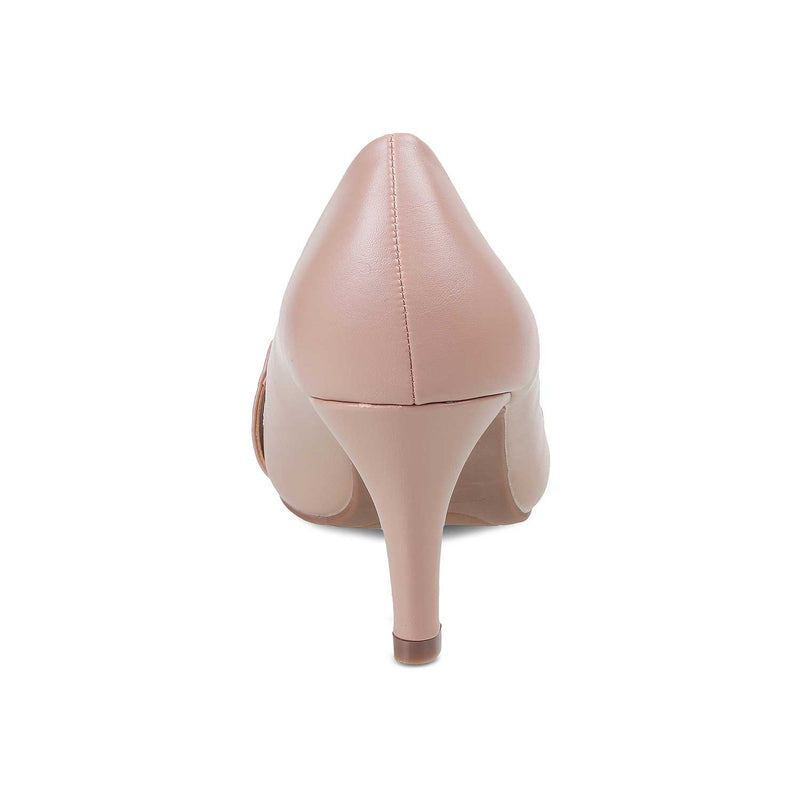 The Oxford Pink - Pink Peep Toes - Tresmode