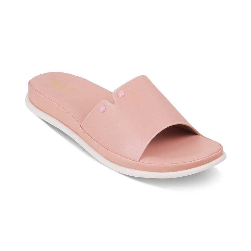 The Siena Pink Flats for Women