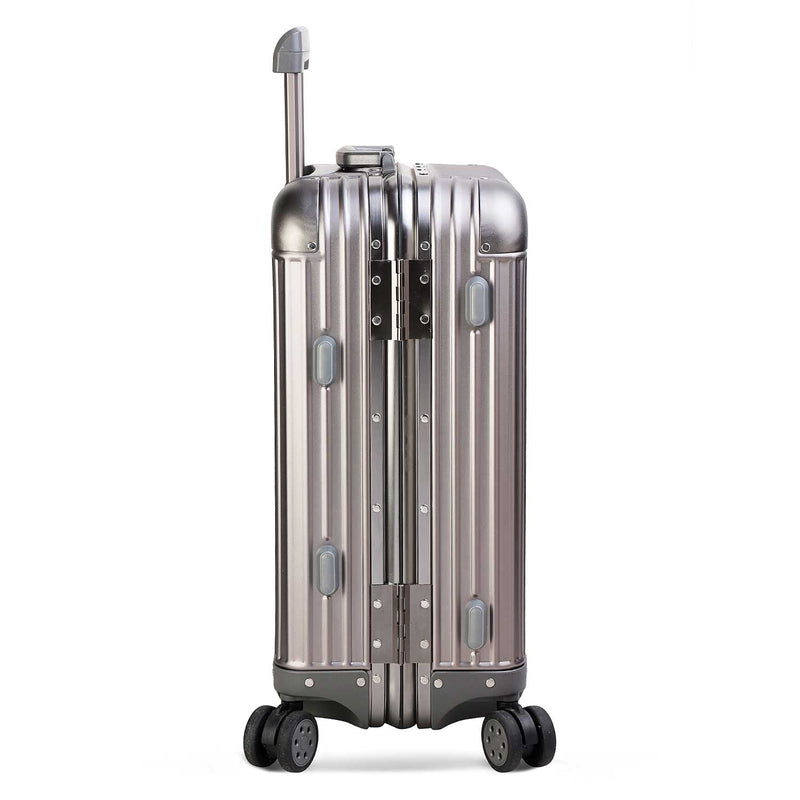 The Birk Grey - Cabin Bag - Grey Alumimium Cabin Bag - Tresmode