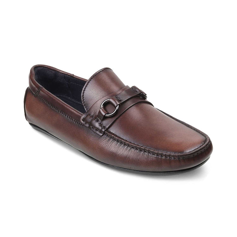 The Tiesto Brown Driving Loafers