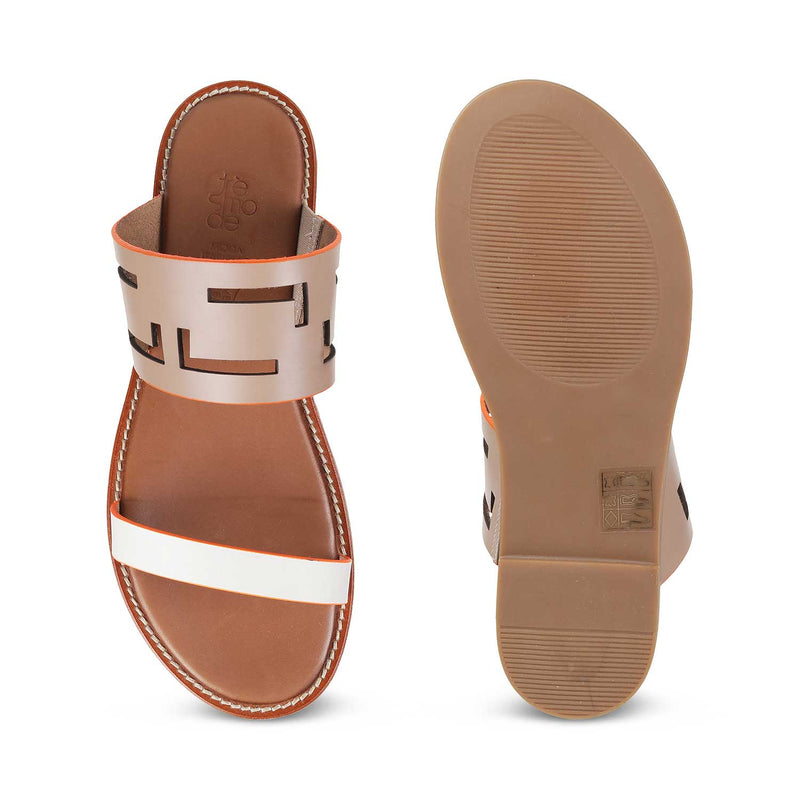 The Tripoli Tan - Tan Flats for Women - Tresmode