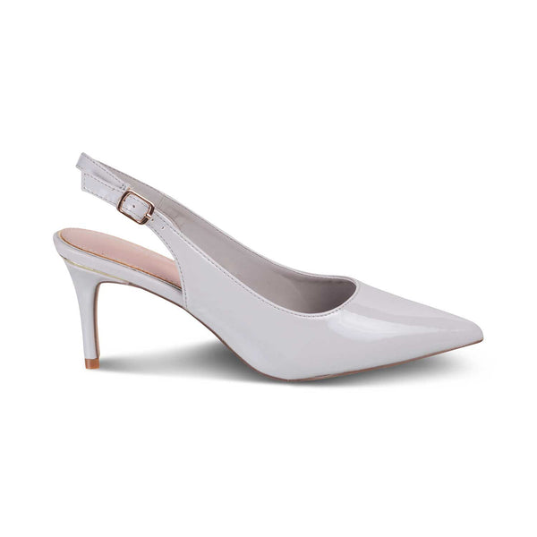 The Venez Grey - Grey Pumps for Women - Tresmode