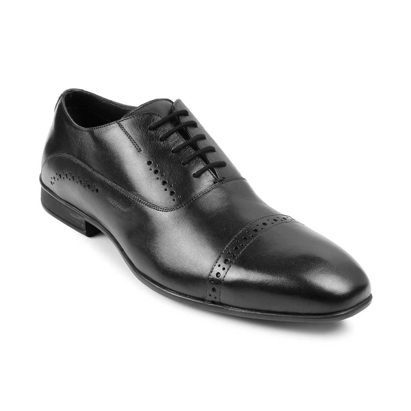 The Gford Black - Black Oxfords for Men - Tresmode