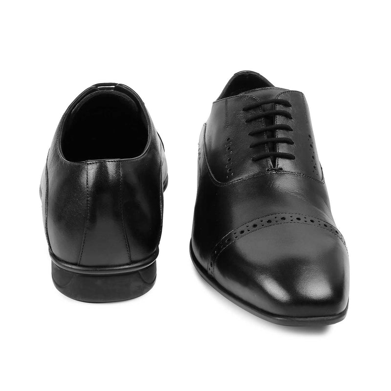 The Gford Black Oxfords for Men