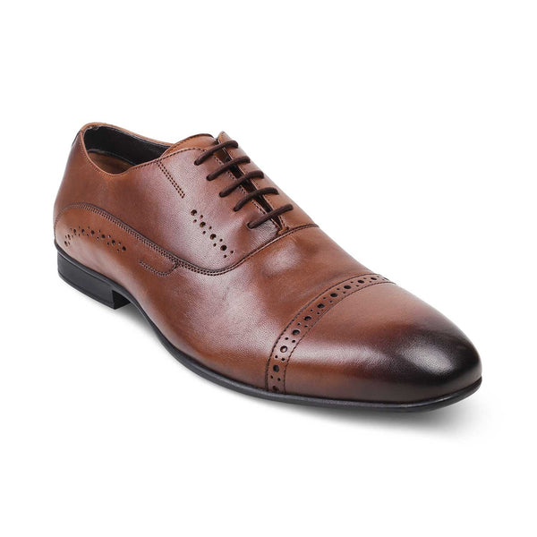 The Gford Brown - Brown Oxfords for Men - Tresmode