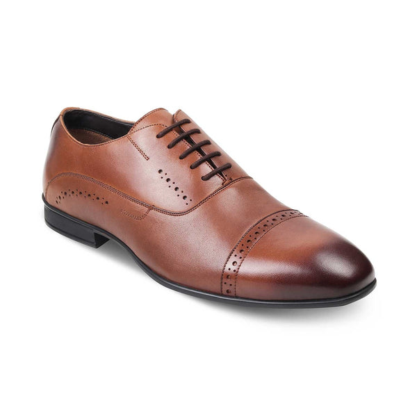 The Gford Tan - Tan Oxfords for Men - Tresmode