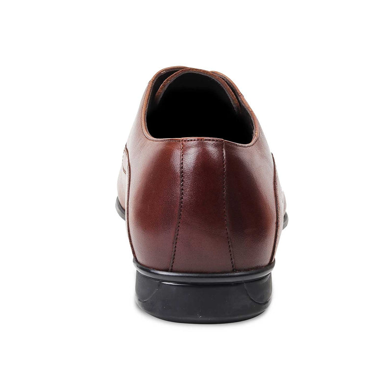 Tan Oxfords for Men-The Gford Tan-Tresmode