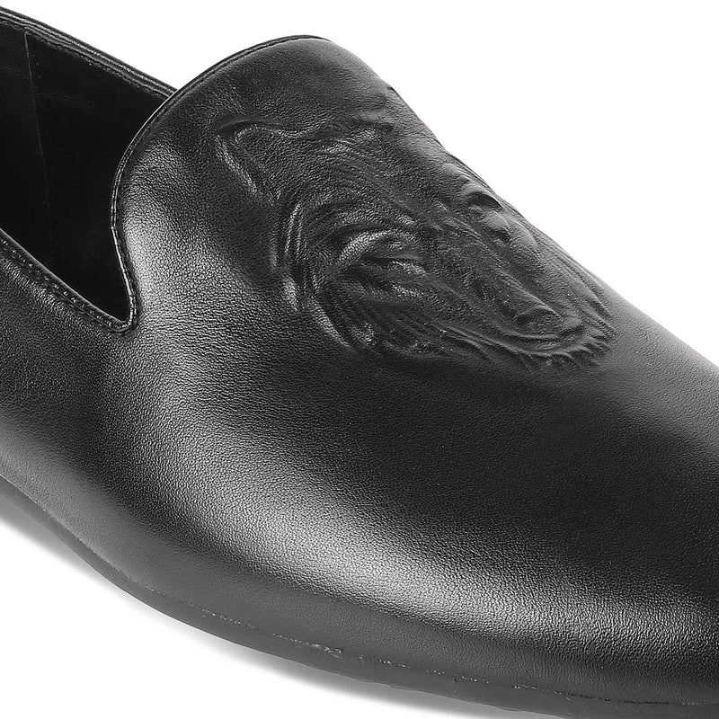 The Marcus Black - Black casual loafers for men - Tresmode