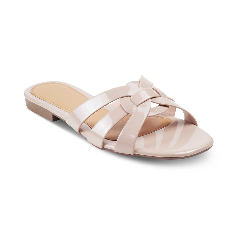 Pink flats for women-The Ostrava Pink-Tresmode