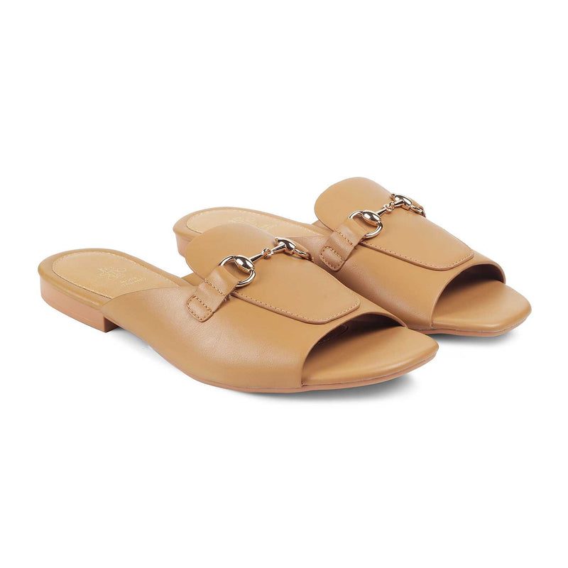 The Prague Camel - Camel Flats for Women - Tresmode