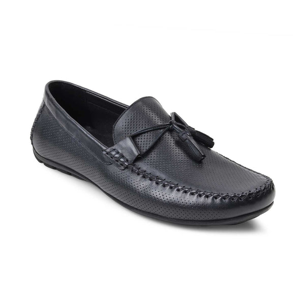 The Rotie Navy - Navy Driving Loafers - Tresmode